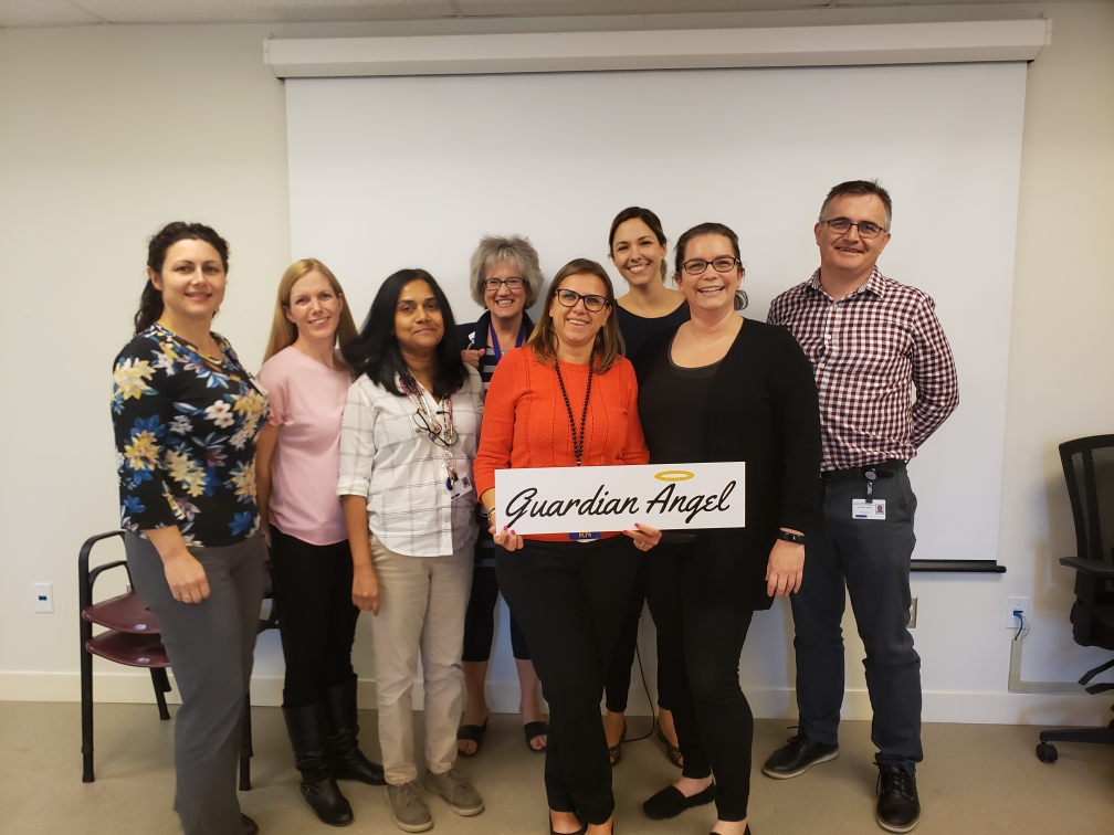 2019-October-Annette-Davidson-and-Hospitalist-team