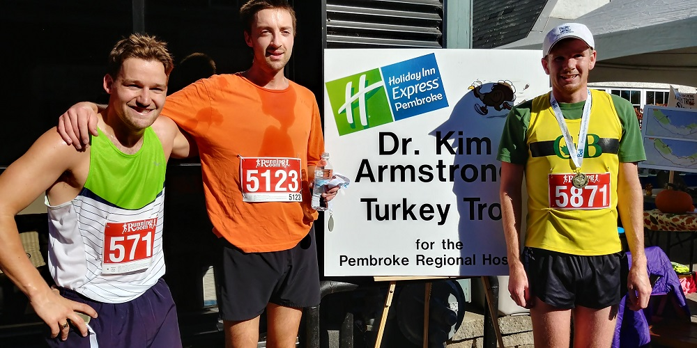 Turkey Trot 2017 -  5K 1st, 2nd, 3rd