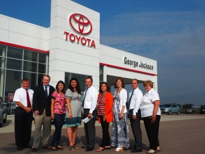 Read more about the article George Jackson Toyota Scion Donates to MRI
