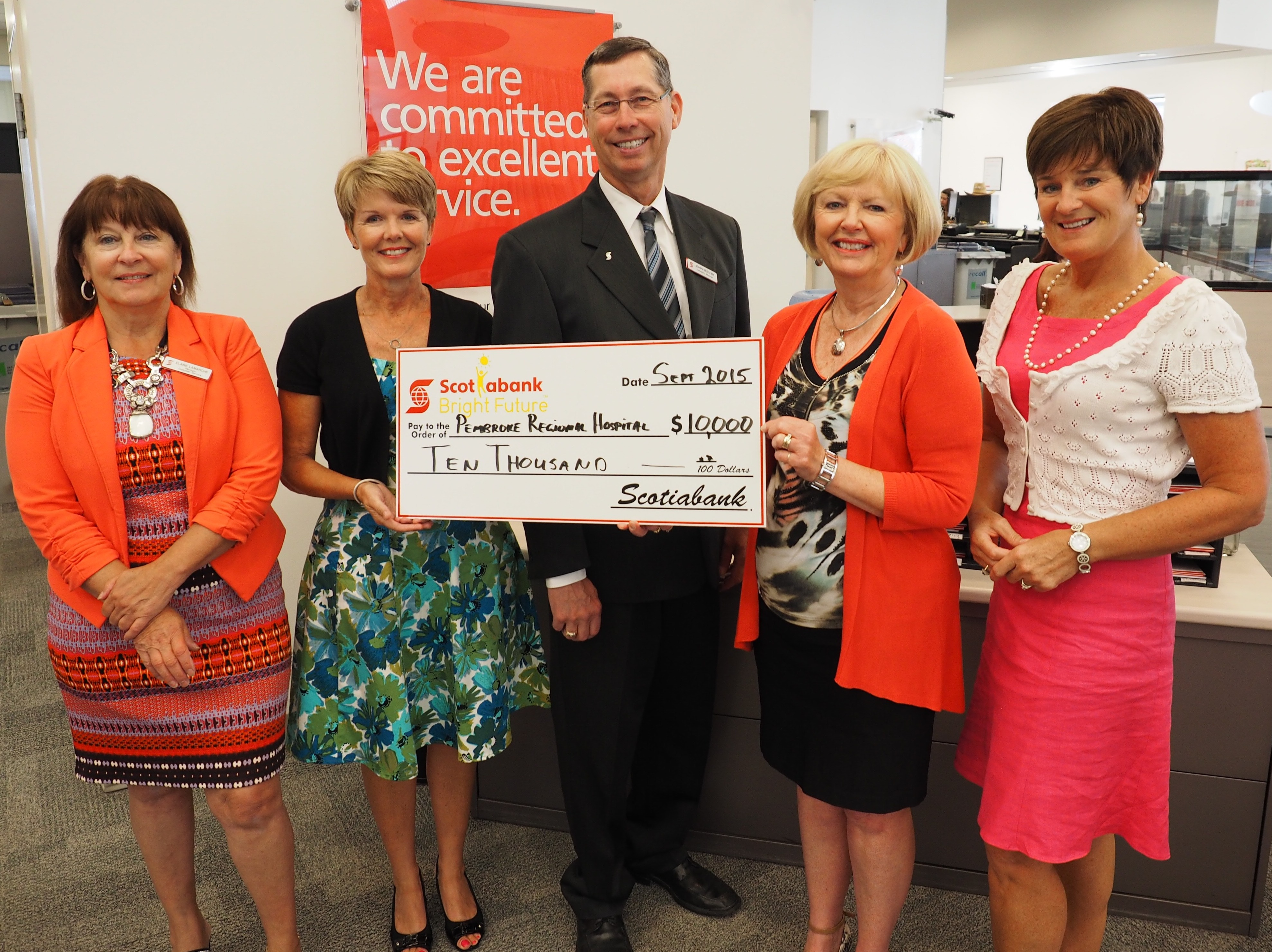 Read more about the article Scotiabank Donates $10,000 to Black & White Gala