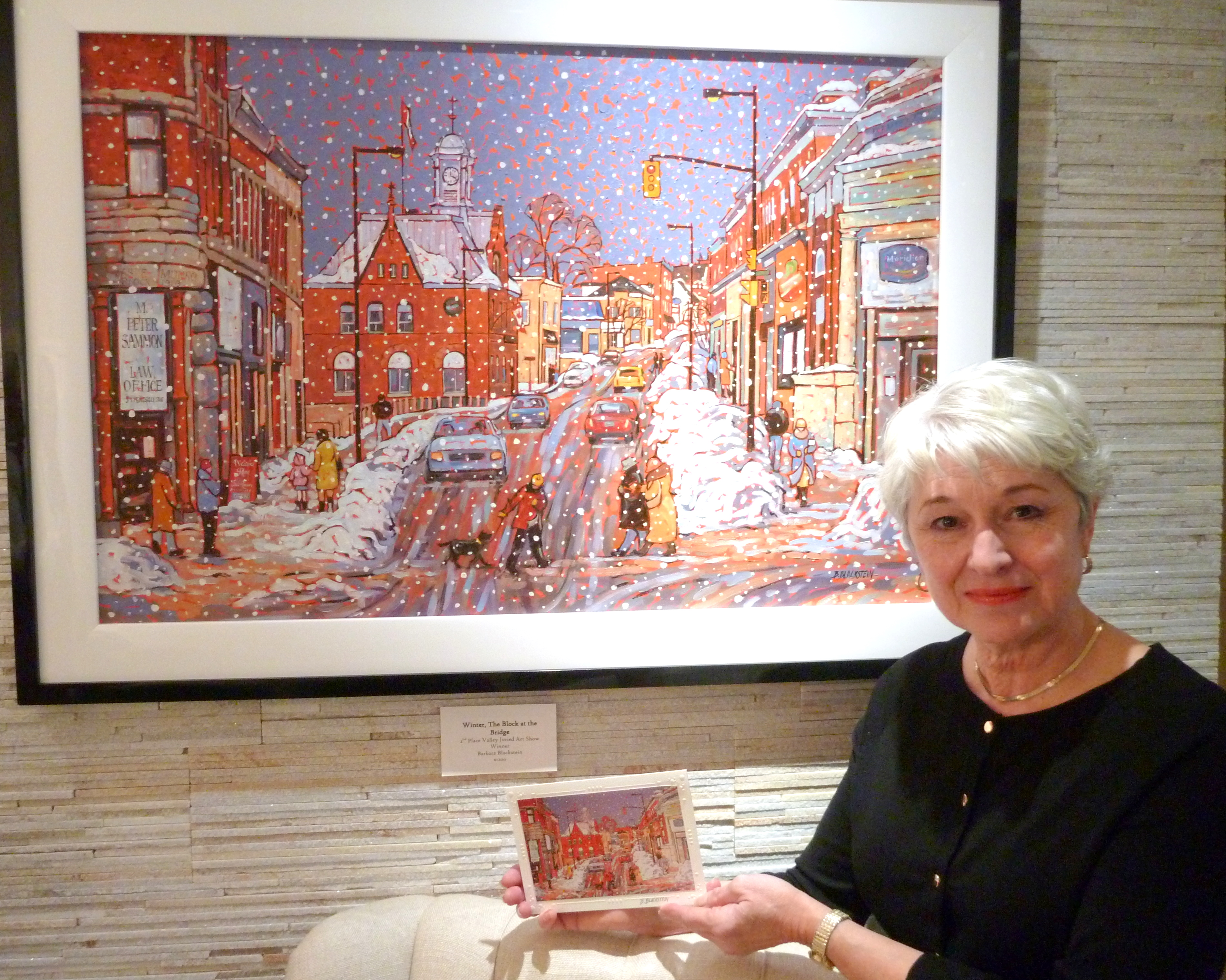 2012 Artist Barbara Blackstein