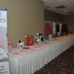 Some of the fantastic silent auction items