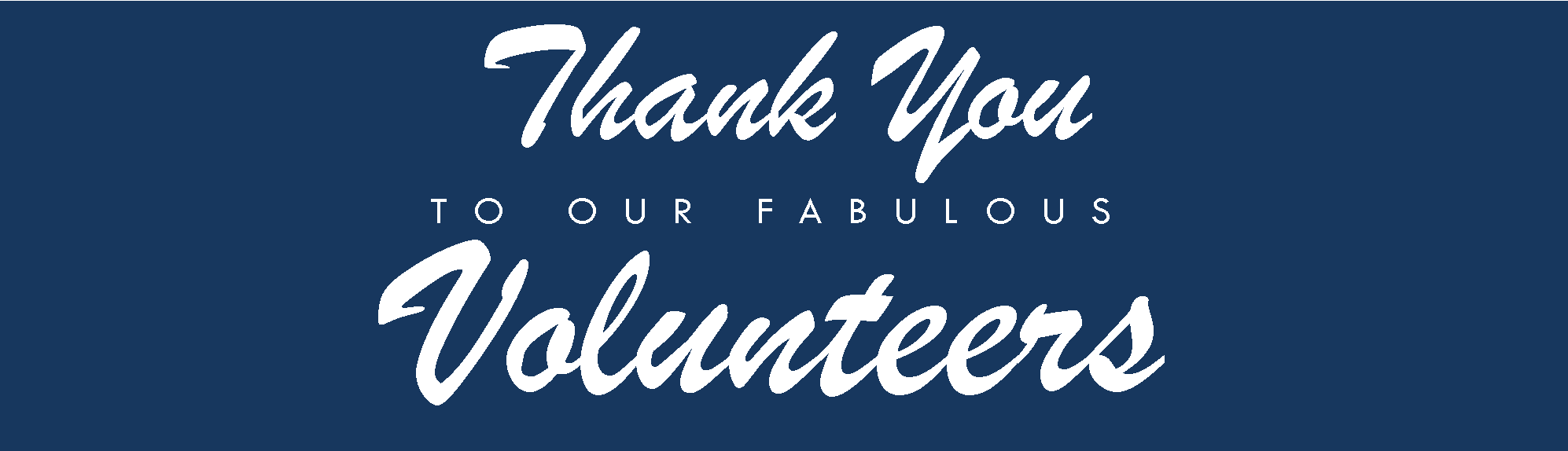 Volunteer Thank you Bzzzanner