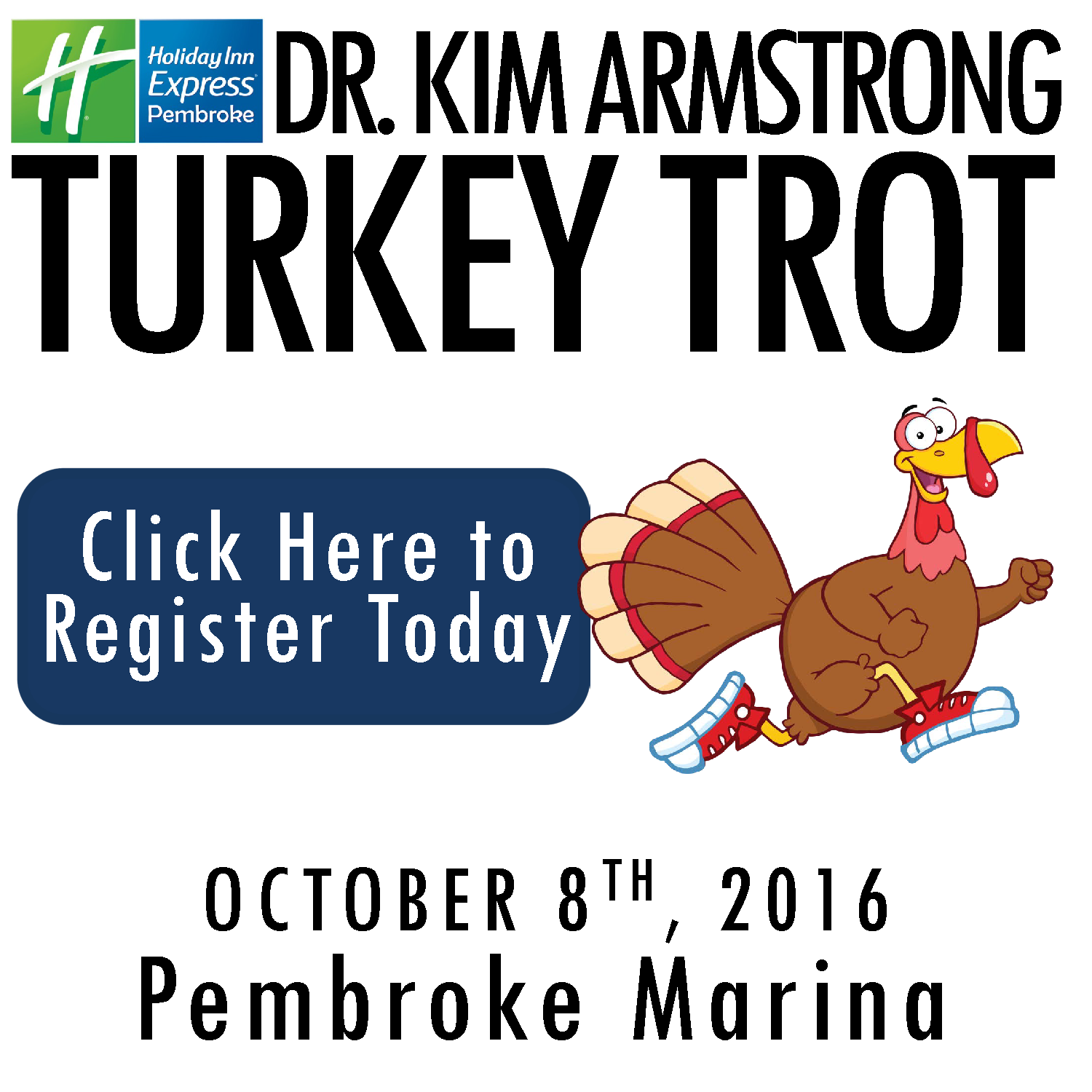 Register today for the 2016 Turkey Trot!
