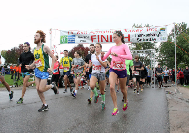 Read more about the article Top finishers at the 12th annual Kim Armstrong Turkey Trot