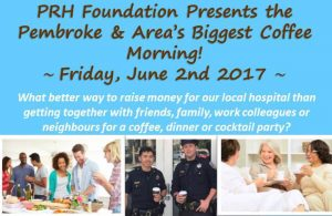 Read more about the article PRH Foundation To Host Pembroke & Area's Biggest Coffee Morning