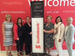 Read more about the article Scotiabank Contributes $10,000 Gift of Humanity to Black & White Gala 150