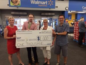 Read more about the article Walmart gifts community with $1,000