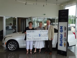 Read more about the article Butler GM Revs up Gala with Gift of Humanity