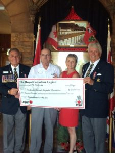 Read more about the article Pembroke Legion Serves Renfrew County Health Care with $5,000 Donation