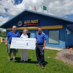 Read more about the article NAPA Auto Parts Pledges $5,000 to Cutting Edge Campaign