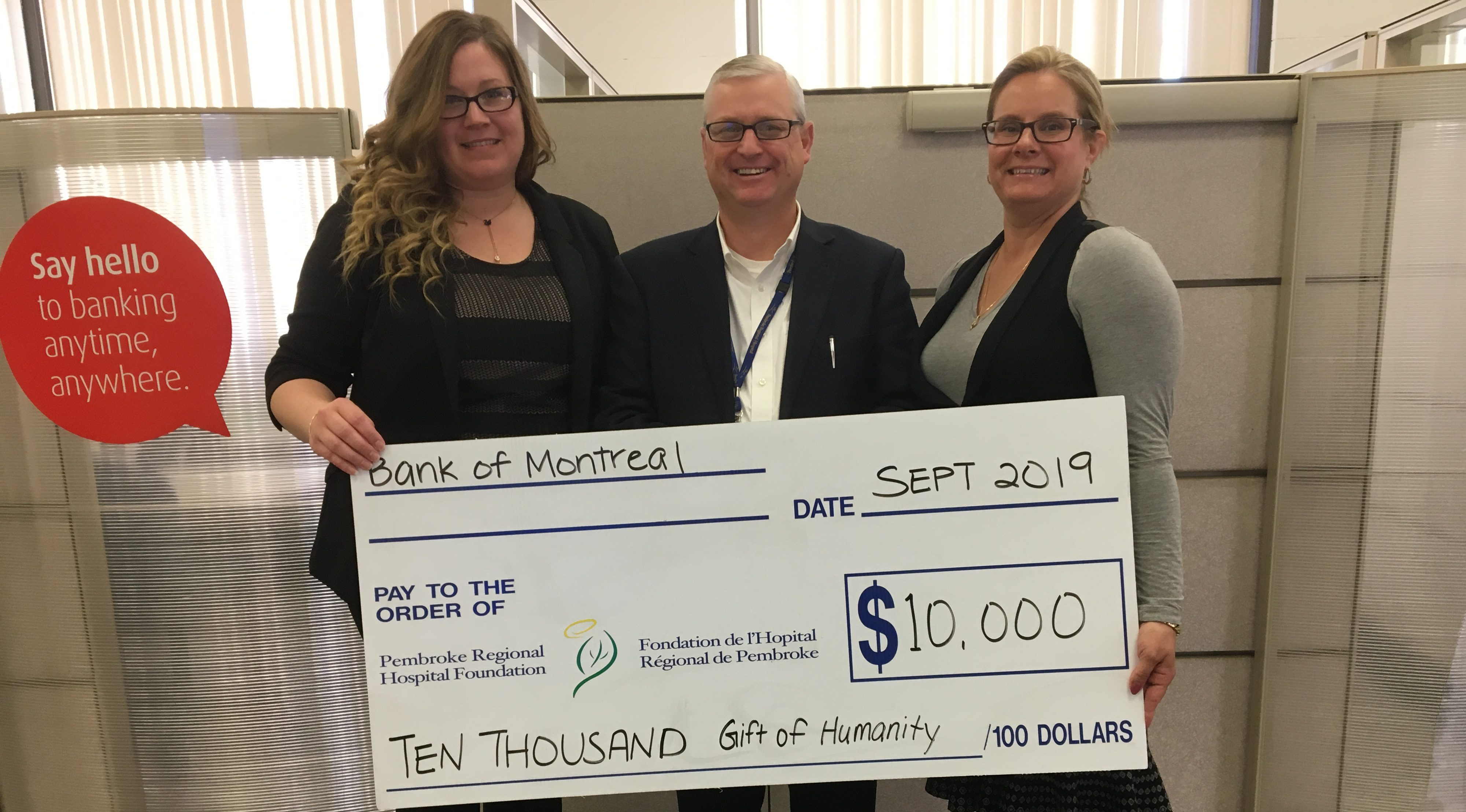 Read more about the article BMO Pledges $10,000 to Hospital Gala