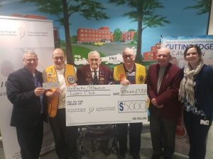 Read more about the article Lions Club Fulfills $15,000 Pledge to Community Health
