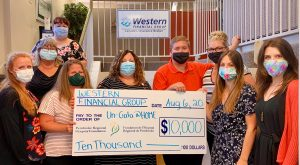 Read more about the article Western Financial Group sponsors $10,000 to PRHF at-home Un-Gala