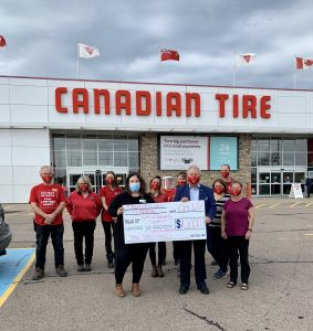 Read more about the article Canadian Tire Pembroke contributes $10,000 as Gift of Humanity Sponsor of the Pembroke Regional Hospital Foundation's 2020 Un-Gala @ Home event