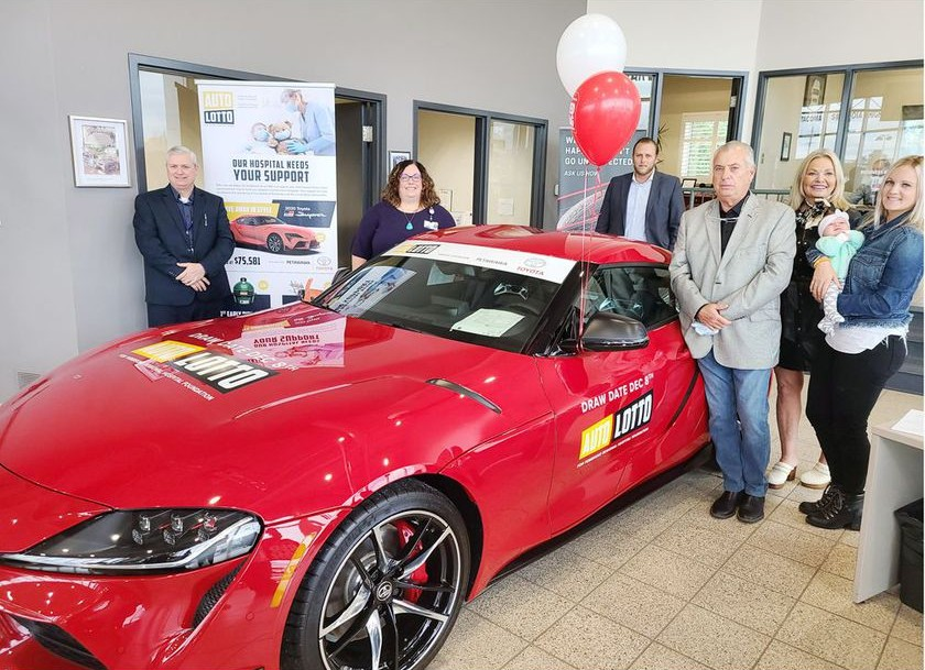 You are currently viewing Announcing the Auto Lotto Car Lottery for Healthcare