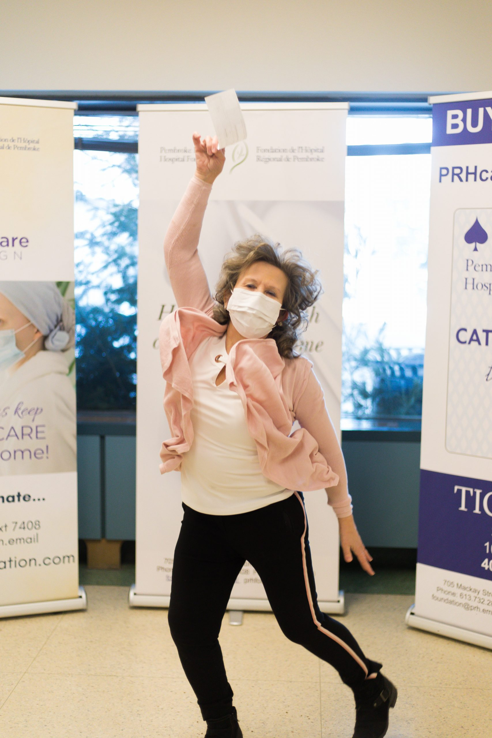 Pembroke Regional Hospital Foundation Catch the Ace Winner